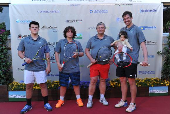 Tennis 2017, a Cividino sfreccia Chiappucci: «La tappa di Rovetta? Possono esserci sorprese»