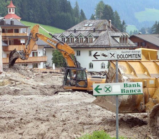 Maltempo in Alto Adige, la vicinanza dell'Accademia dello Sport e delle famiglie di Amatrice