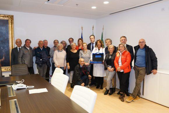Accademia dello Sport e ospedale Papa Giovanni, donato un macchinario per la Patologia neonatale