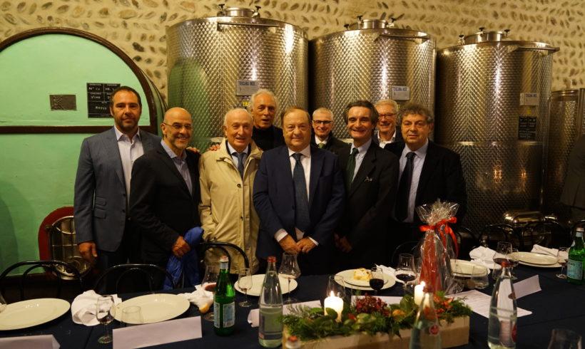 Solidarietà, imprenditoria e istituzioni: l'Accademia dello Sport incontra Attilio Fontana